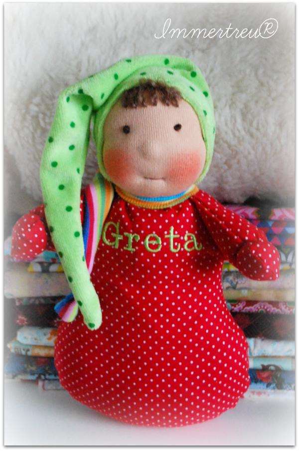 Greta, Mädchen in Lieblingsfarben