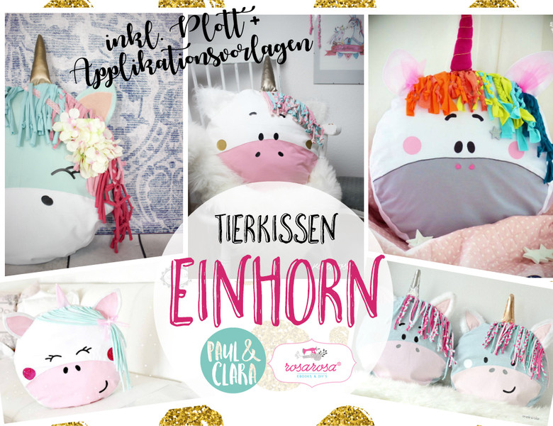 einhorn kissen n hen immertreugehtfremd immertreu. Black Bedroom Furniture Sets. Home Design Ideas